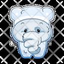 Cute Elephant Icon