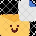 Cute Email Attachment Icon