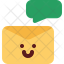 Cute Email Chat Icon