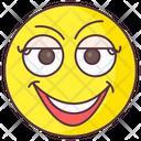 Cute Girl Emoji Icon