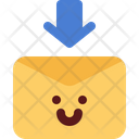 Cute Mail Download Icon