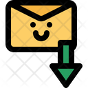 Email Mail Down Icon