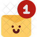 Cute Mail Notification Icon