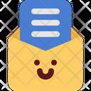 Cute Mail Read Icon