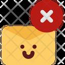 Cute Mail Remove Icon