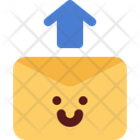 Cute Mail Upload Icon