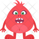 Alien Cartoon Halloween Icon