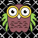 Cute Owl Icon