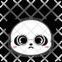 Cute Panda Nerd Icon
