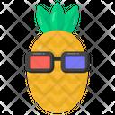 Fruit Cute Pineapple Pineapple Icon