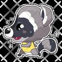 Cute Raccoon Icon