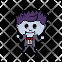 Halloween Vector Vampire Icon
