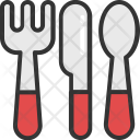 Dining Knife Fork Icon