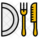 Kitchen Fork Knife Icon