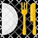 Kitchen Cutlery Fork Icon