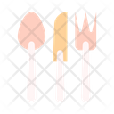Cutlery Kitchen Equipment Spoon Icon