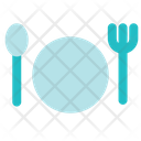 Cutlery Fork Knife Icon