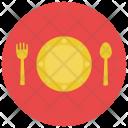 Cutlery Plate Crockery Icon