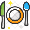Cutlery Food Dine Icon