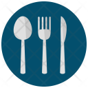 Cutlery Spoon Knife Icon