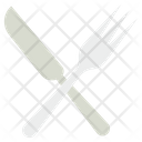 Cutlery Turner Spoon Knife Icon