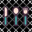 Knife Spoon Folk Icon
