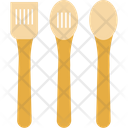Cutlery Spatula Cooking Spoons Icon