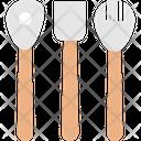 Cutlery Spatula Cooking Spoons Icon
