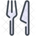 Cutlery Restaurant Restyk Icon