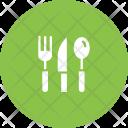 Cutlery Tableware Knife Icon