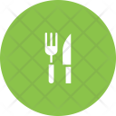 Cutlery Tableware Knife Icon