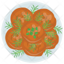 Cutlet Chicken Bread Icon