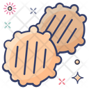 Cutlets Potato Cutlets Snack Icon