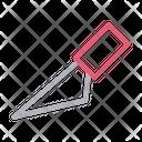 Cutter Cut Blade Icon
