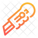 Cutter Work Tool Icon