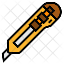 Cutter Knife Stationery Icon