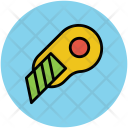 Cutter Knife Snip Icon