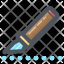 Cutter Line Slice Icon