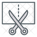 Cutting Scissors Cut Icon