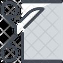 Cutting cloth Icon