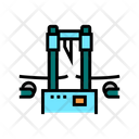 Industrial Cutting Equipment Icon