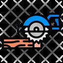 Saw Circular Construction Icon