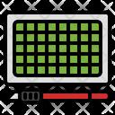 Cutting Mat Office Equipment Cutting Board Icon