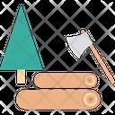Cutting Tree Icon