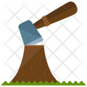 Chopping Tree Wood Icon