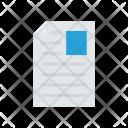 Cv Page Paper Icon