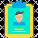 Resume Profile Job Icon