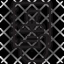 Portfolio Paper Paper Portfolio Icon