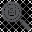 Consideration Work Recruitment Icon