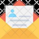 Cv Document Letter Icon